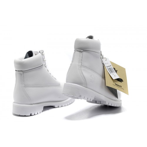 timberland 6 inch blanche